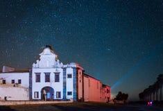 Riserva scura del cielo di Alqueva Immagine Stock Libera da Diritti