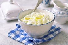 Rishavregröt eller pudding för en frukost Royaltyfri Bild