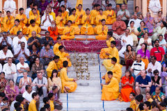 Rishikesh Bhajan Program Royalty Free Stock Photography