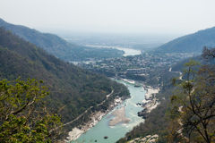 Rishikesh dolina Fotografia Stock