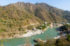 Rishikesh dolina obrazy stock