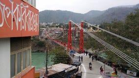 Rishikesh incroyable Photo libre de droits