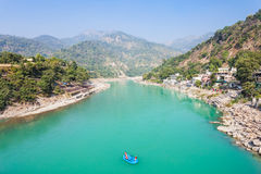 Rishikesh in India Stock Images