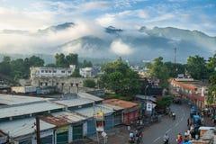 Rishikesh miasteczko zdjęcie royalty free