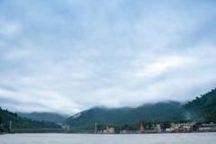Rishikesh na Ganges zdjęcie stock