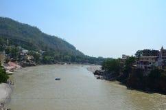 Rishikesh, Uttarakhand tourism, tourism, tourist place, indian tourism, holy place in india, river, ganga river Royalty Free Stock Images