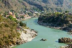 Rishikesh valley Royalty Free Stock Image
