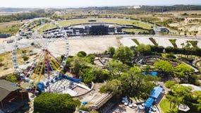 RISHON LE锡安,以色列- 2018年4月14日:在Rishon Le锡安,以色列弗累斯大转轮Superland 免版税图库摄影