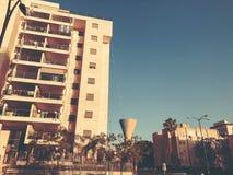 RISHON LE锡安,以色列- 2018年4月23日:高居民住房在Rishon Le锡安,以色列 免版税库存照片