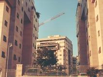 RISHON LE锡安,以色列- 2018年4月23日:高居民住房在Rishon Le锡安,以色列 库存图片