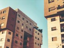 RISHON LE锡安,以色列- 2018年4月23日:高居民住房在Rishon Le锡安,以色列 图库摄影