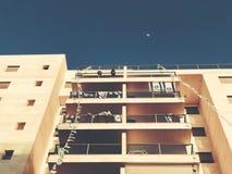 RISHON LE锡安,以色列- 2018年4月23日:高居民住房在Rishon Le锡安,以色列 免版税库存图片