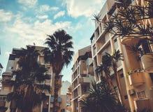 RISHON LE СИОН, ИЗРАИЛЬ - 20-ОЕ СЕНТЯБРЯ 2018: Высокий жилой дом в Rishon Le Сионе, Израиле стоковое фото