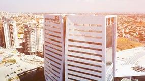 RISHON LE СИОН, ИЗРАИЛЬ 11-ОЕ ФЕВРАЛЯ 2018: Здание Azrieli в Rishon Le Сионе, Израиле Стоковые Изображения RF
