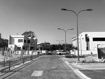 RISHON LE ZION, ISRAËL - 30 AVRIL 2018 : Rue dans Rishon LeZion, Israël Photo stock