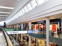 RISHON LE ZION, ISRAEL- DECEMBER 29, 2017: Inside the Department Store in Rishon Le Zion, Israel. Royalty Free Stock Images