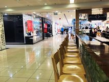 RISHON LE ZION, ISRAEL- DECEMBER 29, 2017: Inside the Department Store in Rishon Le Zion, Israel. Royalty Free Stock Photo