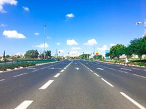 RISHON LE ZION, ISRAEL -  SEPTEMBER 30, 2017: Once a year, on Yom Kippur the country goes quiet as almost all cars stop running. RISHON LE ZION, ISRAEL Royalty Free Stock Images