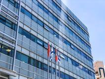 RISHON LE ZION IZRAEL, CZERWIEC, - 18, 2018: Urzędu miasta budynek w Rishon Le Zion, Izrael Obraz Stock