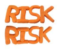 Risico dat van klei wordt gemaakt Royalty-vrije Stock Foto's
