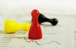 Risico en aanwinst Royalty-vrije Stock Fotografie