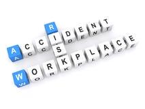 Risico van ongeval in werkplaats Royalty-vrije Stock Fotografie