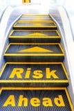 Risico vooruit royalty-vrije stock fotografie