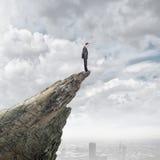 Risico in zaken Stock Foto