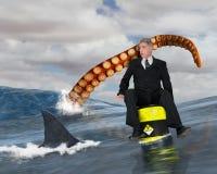 Risicobeheer, Zaken, Verkoop, Marketing stock afbeelding