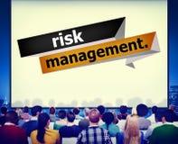Risicobeheerinvestering het Concept van de Planningsstrategie Royalty-vrije Stock Foto's