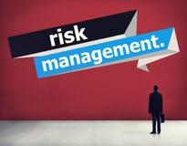 Risicobeheerinvestering het Concept van de Planningsstrategie Stock Fotografie