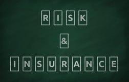 Risiko und Versicherung Lizenzfreies Stockfoto