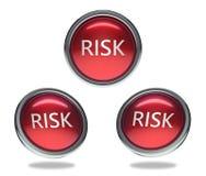 Risikoglasknopf lizenzfreie abbildung