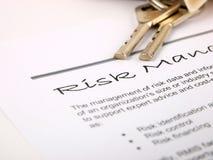Risikomanagement stockbild