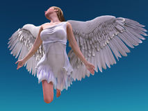 Rising angel Stock Photo