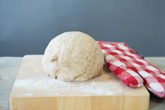Rising bread dough Stock Photography
