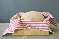 Rising bread dough Royalty Free Stock Images