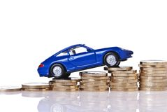 Rising Car Costs Royalty Free Stock Photos