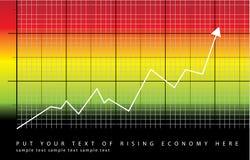 Rising economy Stock Image