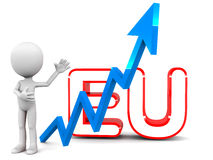 Rising european union Stock Photo
