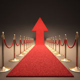 Rising Fame Royalty Free Stock Image