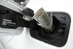 Rising gas prices Stock Photos