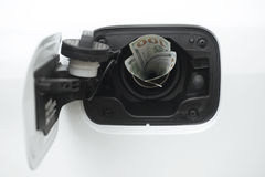 Rising gas prices Stock Images