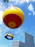 Rising helium balloon Royalty Free Stock Photo
