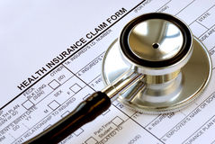 Rising medical cost in the U.S. Stock Photos
