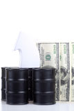 Rising oil prices Royalty Free Stock Photography