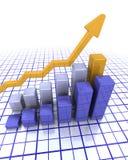 Rising profits Royalty Free Stock Photos