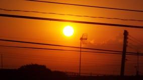 Rising sun royalty free stock photos