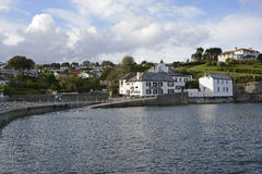 The Rising Sun Inn at Portmellon. Cornwall. England Royalty Free Stock Image