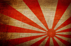 Rising Sun japan flag Stock Photos